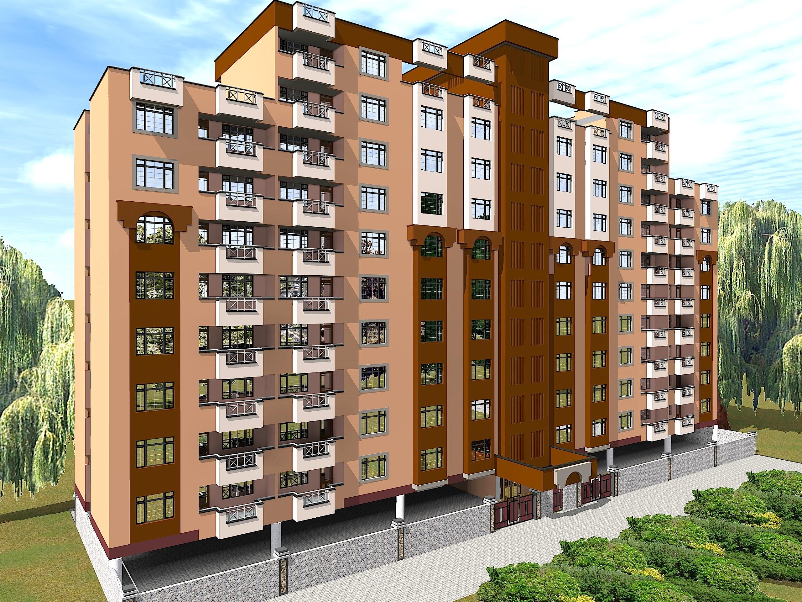 Junction suites phase ii for Apartment design kenya